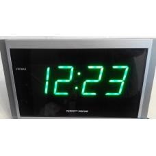 Сетевые настенные часы Perfekt 2502