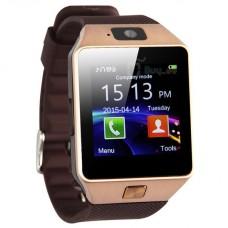 Умные часы Smart watch dz 09 золотой