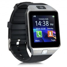 Умные часы Smart watch dz 09 серебристые